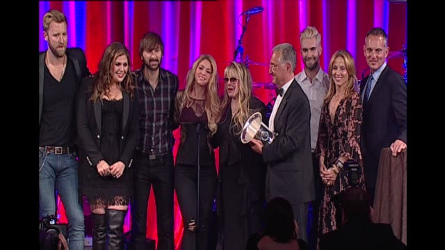 Adam Levine Sheryl Crow Lady Antebellum Vanessa Carlton Stevie Nicks Shakira at 62nd Annual BMI Pop Awards in Los Angeles CA