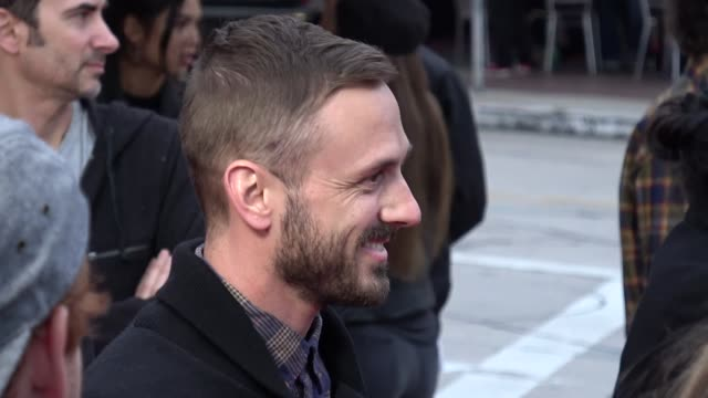 Adam McArthur arrives at 'Andy Iron's Kissed By God' Premiere in Celebrity Sightings in Los Angeles