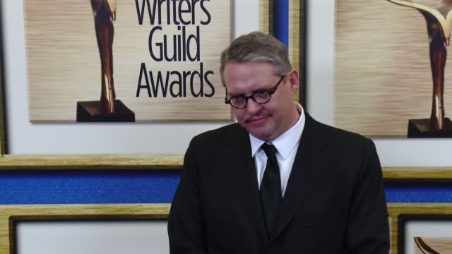 adam mckay at 2016 writers guild awards la ceremony at the hyatt regency century plaza on february 13 2016 in century city california - century plaza stock videos & royalty-free footage