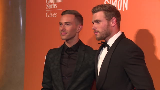 Adam Rippon and Gus Kenworthy at The Trevor Project TrevorLIVE NY 2018 at Cipriani Wall Street on June 11 2018 in New York City