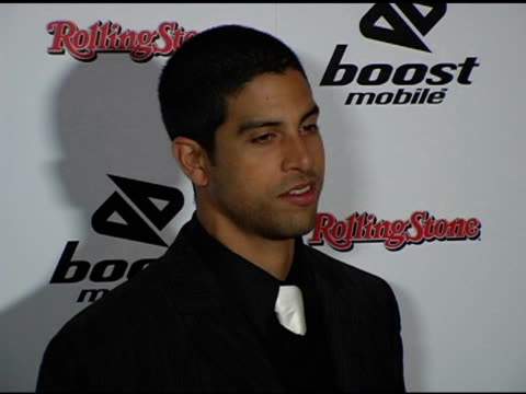 adam rodrigez at the grammy party hosted by boost mobile and dave meyers at 5900 wilshire blvd in los angeles california on february 13 2005 - adam rodriguez stock videos and b-roll footage