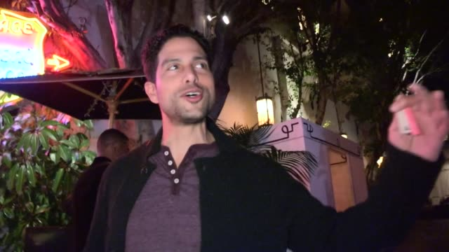 adam rodriguez at chateau marmont in west hollywood 02/02/13 - adam rodriguez stock videos and b-roll footage