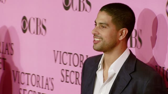 adam rodriguez at the 12th annual victoria's secret fashion show at the kodak theatre in hollywood california on november 15 2007 - adam rodriguez stock videos and b-roll footage