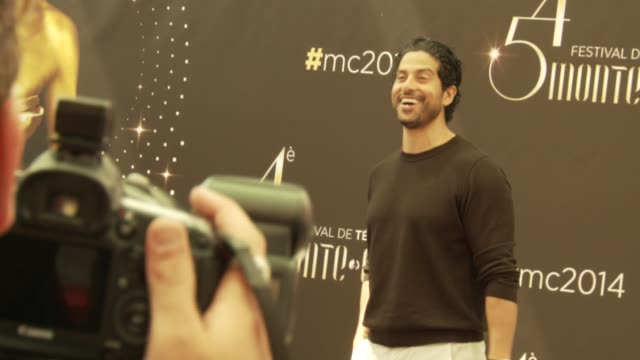 adam rodriguez at the 54th montecarlo television festival day 1 on june 07 2014 in montecarlo monaco - adam rodriguez stock videos and b-roll footage