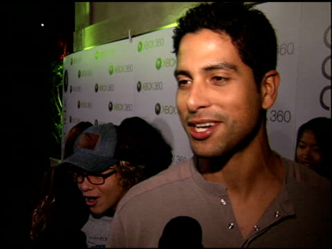 adam rodriguez at the xbox 360 launch party on november 16 2005 - xbox stock videos & royalty-free footage