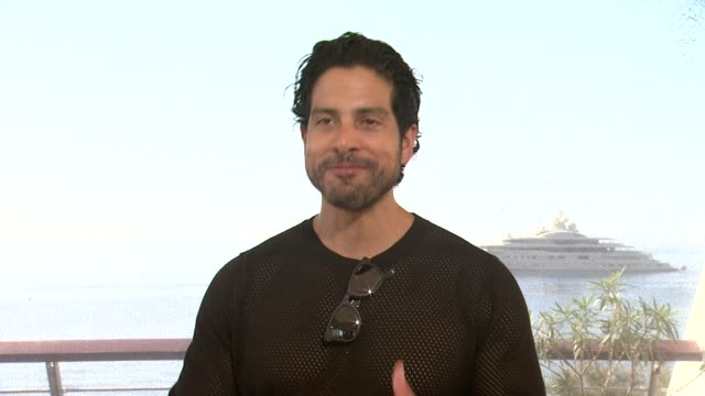 interview adam rodriguez on magic mike 2 what fans can expectat 54th montecarlo television festival day 3 on june 09 2014 in montecarlo monaco - adam rodriguez stock videos and b-roll footage