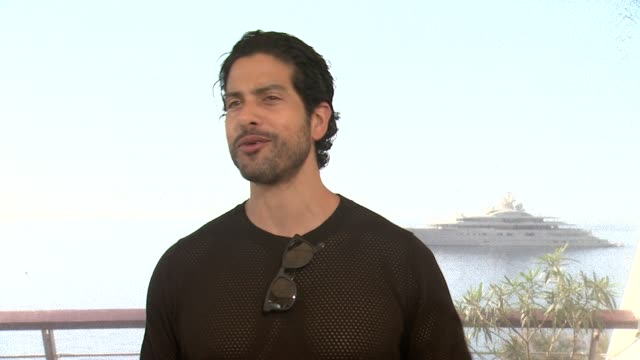 interview adam rodriguez on the character he plays on his new show reckless at 54th montecarlo television festival day 3 on june 09 2014 in... - adam rodriguez stock videos and b-roll footage