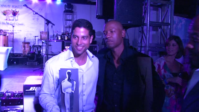 adam rodriquez tory kittles at the amaury nolasco friends golf classic and award ceremony celebration at guaynabo - adam rodriguez stock videos and b-roll footage