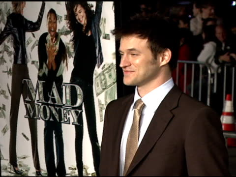 Adam Rothenberg at the 'Mad Money' Premiere at the Mann Village Theatre in Westwood California on January 9 2008