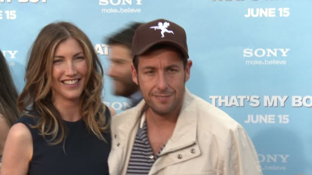adam sandler at that's my boy los angeles premiere adam sandler at regency village theatre on june 04 2012 in westwood california - adam sandler stock videos & royalty-free footage