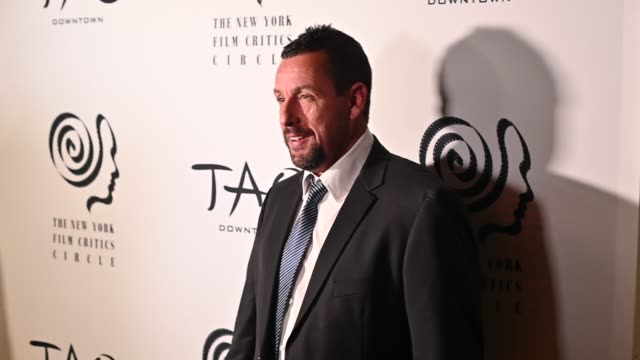 adam sandler at the 2019 new york film critics circle awards at tao downtown on january 07 2020 in new york city - adam sandler stock videos & royalty-free footage