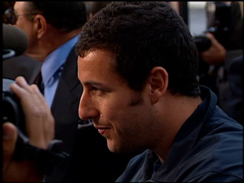 Adam Sandler at the 'Big Daddy' Premiere at Avco Cinema in Westwood California on June 17 1999