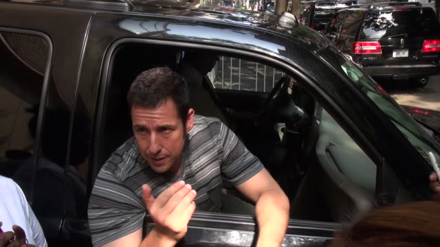 adam sandler at the 'live with kelly and michael' studio in new york ny on 7/10/13 - adam sandler stock videos & royalty-free footage