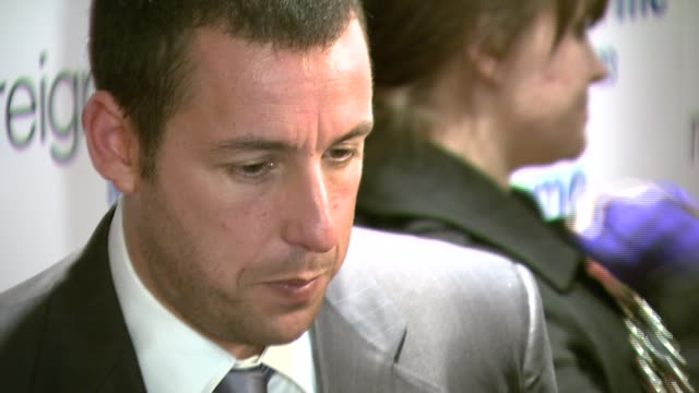 adam sandler at the 'reign over me' world premiere at skirball center for the performing arts at nyu in new york new york on march 20 2007 - adam sandler stock videos & royalty-free footage