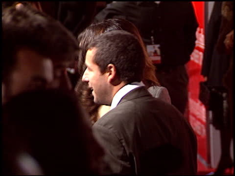 adam sandler at the 'spanglish' premiere on december 9 2004 - spanglish stock videos & royalty-free footage