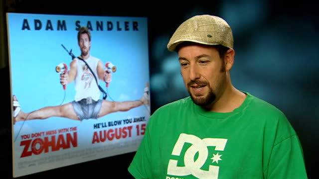adam sandler interview sot - アダム・サンドラー点の映像素材/bロール