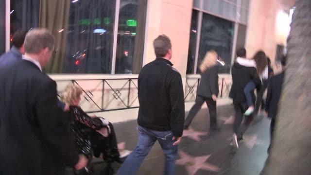 Adam Sandler & Judy Sandler enter after party for Blended in