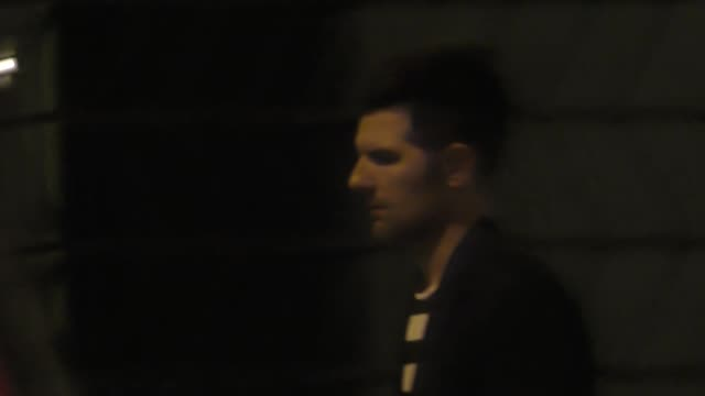 Adam Scott outside FOX Party at Catch Restaurant in West Hollywood in Celebrity Sightings in Los Angeles