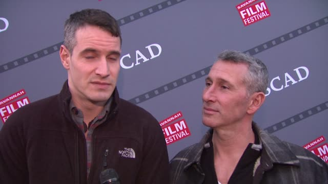 interview adam shankman and frank meli talk about the excited atmosphere surrounding the savannah film festival scad presents 17th annual savannah... - surrounding stock videos and b-roll footage