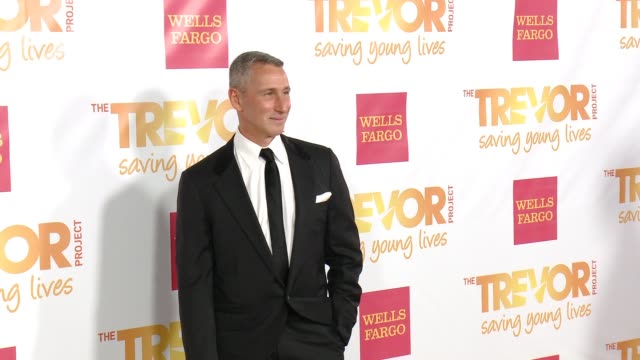 adam shankman at 16th annual trevor project benefit presented by wells fargo in los angeles ca - markenname stock-videos und b-roll-filmmaterial