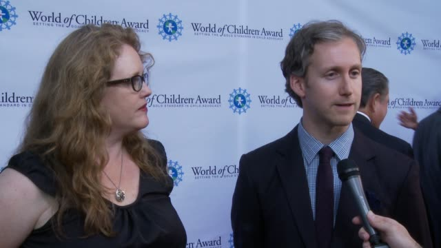 INTERVIEW Adam Shulman Heidi Nahser Fink on the event at World of Children Awards 2015 Alumni Honors Il Cielo in Los Angeles CA