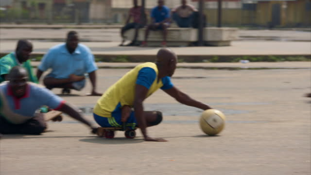 adaptive football being played in lagos - viral infection stock videos & royalty-free footage