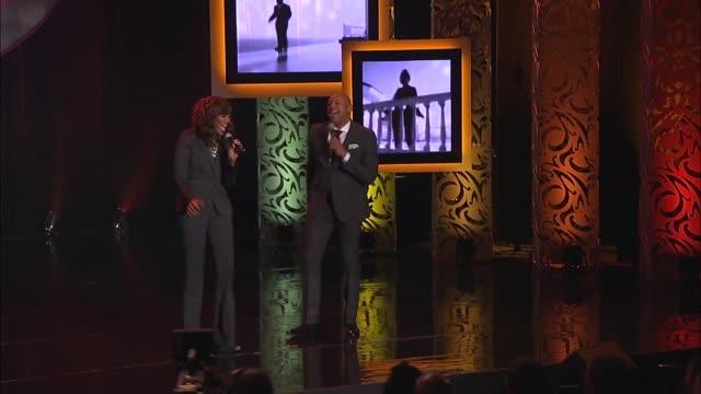 PERFORMANCE 'Addictive Love' Performed by Yolanda Adams and Brian Courtney Wilson at 2016 BMI Trailblazers Of Gospel Music Awards at Rialto Center...