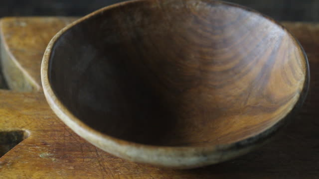 adding azka peas to an earthenware bowl - bean stock videos & royalty-free footage