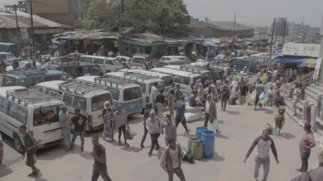 addis ababa market - horn of africa stock videos & royalty-free footage