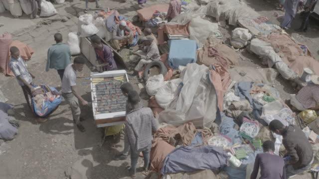 addis ababa market - ethiopia stock videos & royalty-free footage