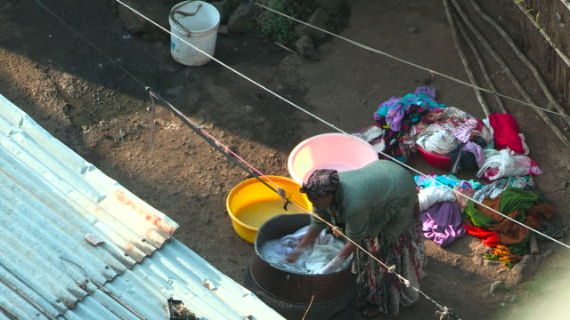addis ababa - washtub stock videos and b-roll footage