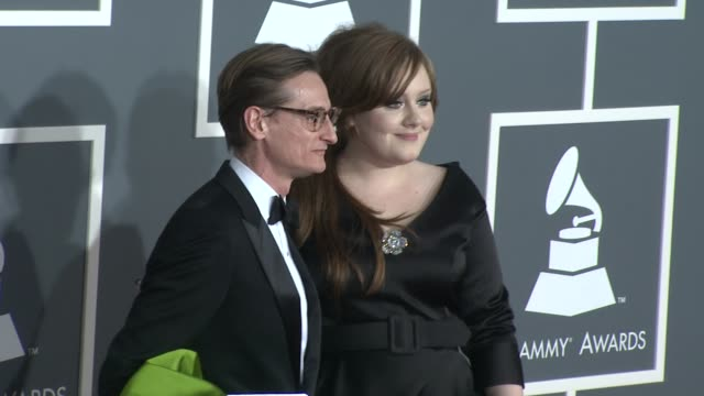 Adele at the 51st Annual Grammy Awards Part 4 at Los Angeles CA