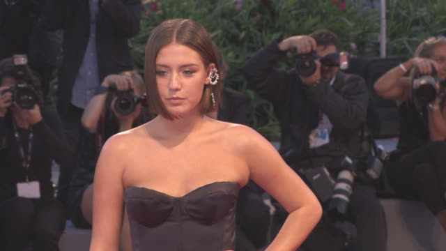 Adele Exarchopoulos at 'Racer and the Jailbird' Red Carpet 74th Venice International Film Festival at Palazzo del Cinema on September 08 2017 in...