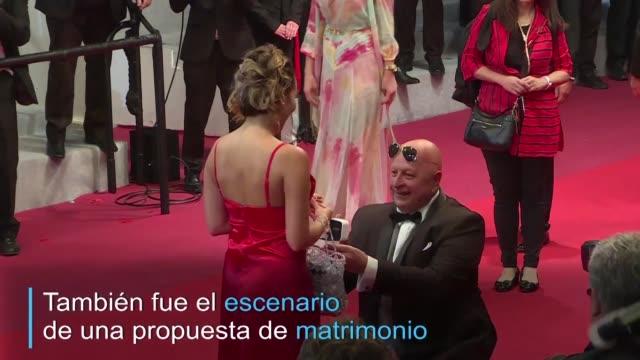 FRA: ¡Dijo que si! El amor se roba el protagonismo en la alfombra roja de Cannes