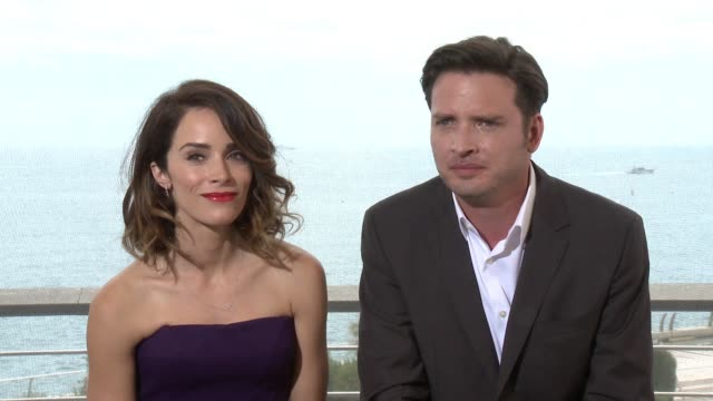 INTERVIEW Aden Young and Abigail Spencer on June 17 2015 in MonteCarlo Monaco