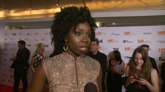 INTERVIEW Adepero Oduye on the event at '12 Years A Slave' Premiere 2013 Toronto International Film Festival on 9/6/2013 in Toronto Canada