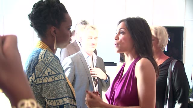 adepero oduye rosario dawson at piaget at the 2012 film independent spirit awards on 2/25/12 in los angeles ca - rosario dawson stock videos and b-roll footage