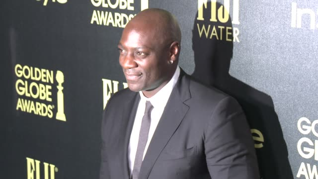 vídeos de stock e filmes b-roll de adewale akinnuoyeagbaje at the hollywood foreign press association and instyle celebrate the 2016 golden globe award season at ysabel on november 17... - prémio globo de ouro