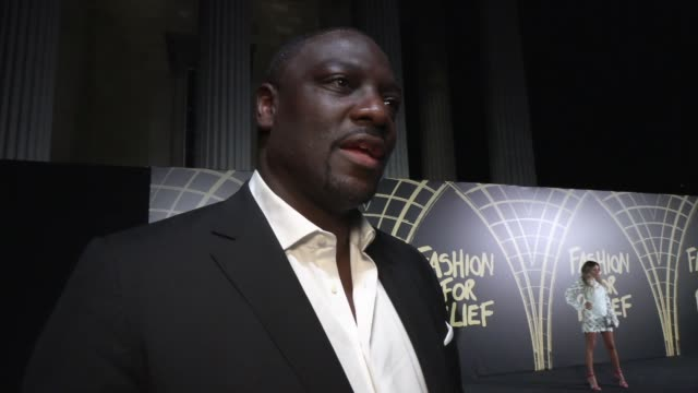 adewale akinnuoyeagbaje on naomi campbell and current filming projects at british museum on september 14 2019 in london england - naomi campbell stock videos & royalty-free footage