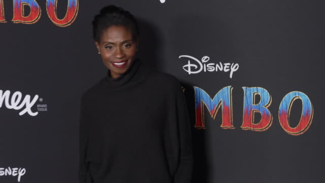 """adina porter at the """"dumbo"""" world premiere at the el capitan theatre on march 11, 2019 in hollywood, california. - el capitan theatre stock videos & royalty-free footage"""