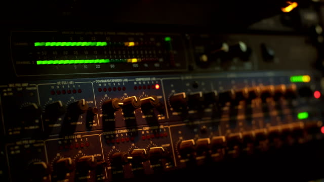 adjusting equalization - recording studio stock videos & royalty-free footage