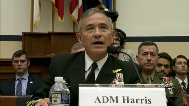 Admiral Harry Harris tells members of the House Armed Services Committee at an oversight hearing that United States economic and national security is...