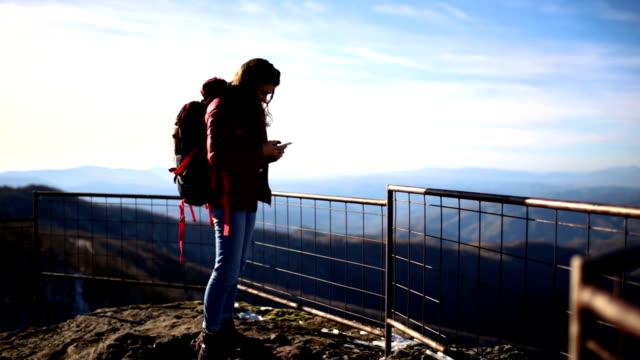Admiring Scenic Of Majestic Mountain