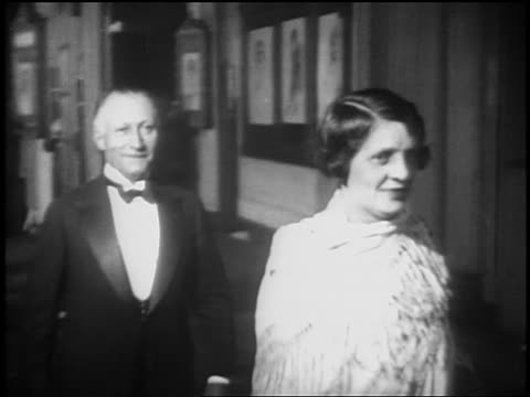 """adolph zukor at opening night of """"glorifying the american girl"""" in nyc - 1927 stock videos & royalty-free footage"""