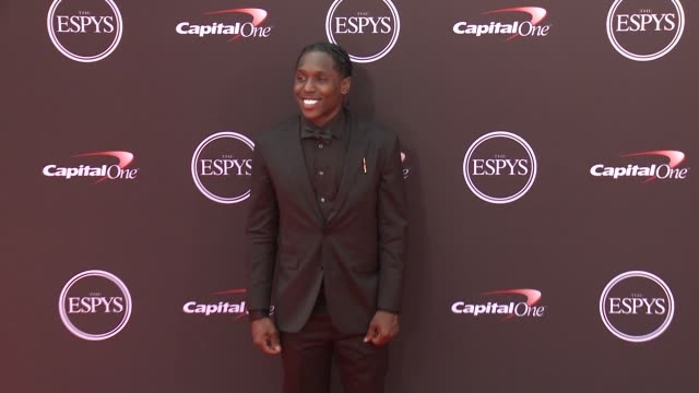 Adoree' Jackson at The 2018 ESPYS at Microsoft Theater on July 18 2018 in Los Angeles California