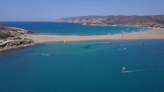 adrenaline summer - rhodes dodecanese islands stock videos & royalty-free footage