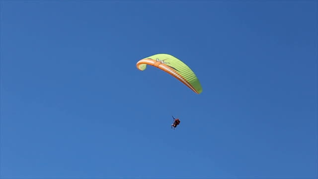 adrenaline-extreme sport,paragliding - paragliding stock videos & royalty-free footage