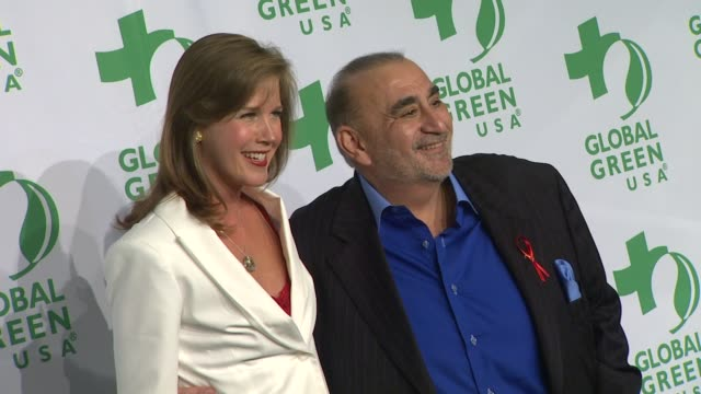 adria tennor ken davitian at global green usa's 9th annual preoscar party on 2/21/12 in hollywood ca - oscar party stock-videos und b-roll-filmmaterial