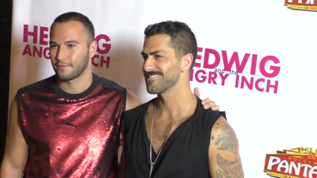 Adrian Anchondo Adam Ramzi at Opening Night Of 'Hedwig And The Angry Inch' on November 02 2016 in Los Angeles California