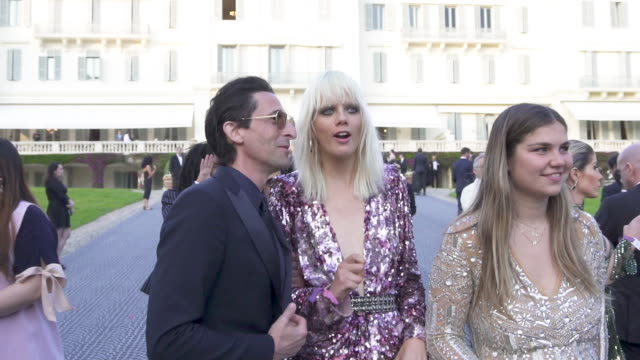 SLOMO Adrian Brody at amfAR Cannes Gala 2019 Arrivals at Hotel du CapEdenRoc on May 23 2019 in Cap d'Antibes France